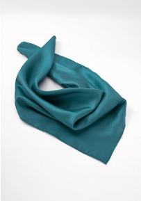 Silk Scarf for Women in Turquoise Green