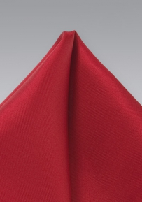 Solid Cherry Red Handkerchief