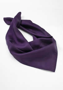 Womens Scarf in Eggplant Purple