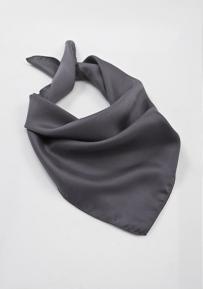 Solid Women's Scarf in Charcoal
