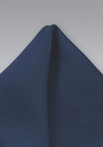 Solid Navy Handkerchief