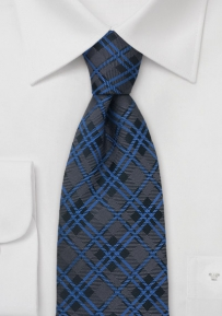 Traditional Tartan-Check Pattern Tie