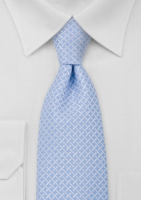 Powder Blue Mens Neck Tie