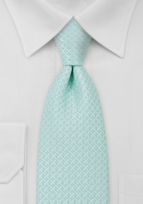 Light Turquoise Kids Size Tie