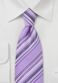 Trendy Lavender Purple Tie