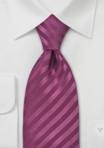 Mens Silk Tie in Wine Red