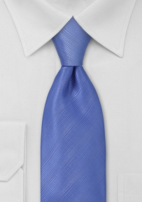 Boys Length Necktie in Bright Blue