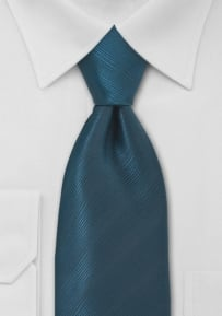 Elegant Teal Blue Mens Tie
