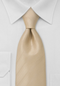 Festive Champagne Colors Tie in Kids Length