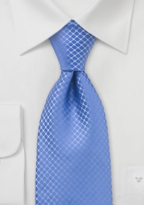 Light Blue Silk Designer Tie