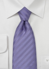 Mens Silk Tie in Lavender Purple