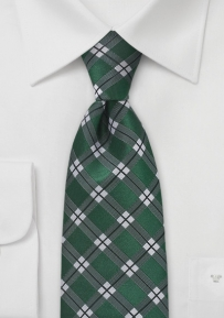 Men's Graphic Plaid in Saturated Green