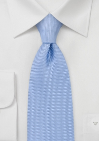 Textured Designer Tie in Sky Blue