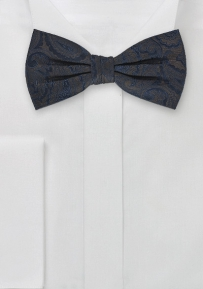 Intricate Handwoven Pre-Tied Bowtie