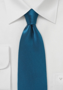 Corduroy Silk Tie in Dark Teal