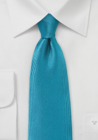 Corduroy Silk Tie in Mosaic Blue