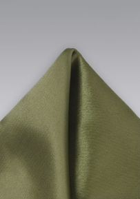Solid Color Handkerchief in Olive Color