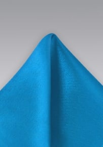 Solid Ice Blue Handkerchief