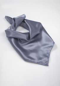 Solid Woman's Scarf in Gray
