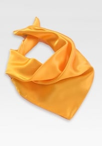 Tangerine Yellow Womens Scarf