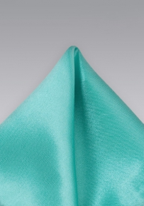 Mens Handkerchief in Bright Mint Green