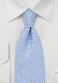 Patterned Tonal Blue Tie
