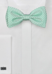 Modern Bow Tie in Clover Green