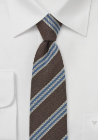 Modern Slim Necktie by BlackBird