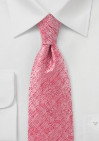 Heather Coral Color Necktie