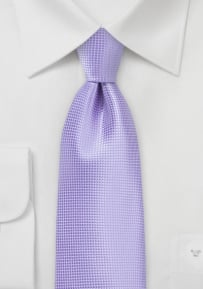 Solid Color Tie in Violet Tulip