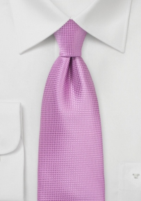 Solid Color Necktie in Radiant Orchid