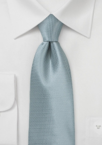 Unique Men's Tie in Quarry Gray