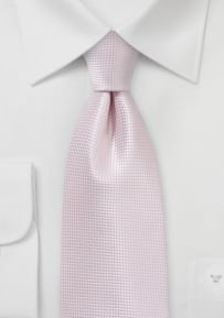 Textured Blush Hued Kids Necktie