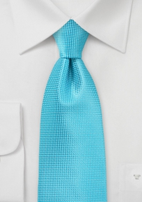 Solid Color Tie in Bright BlueBird Color