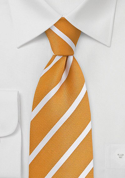amber yellow and white striped tie bowsntiescom