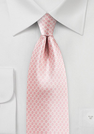 Blush Summer Tie In Satin Silk Bows N Ties Com
