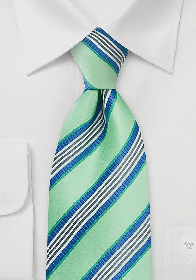 Mint Green And Navy Necktie Bows N Ties Com