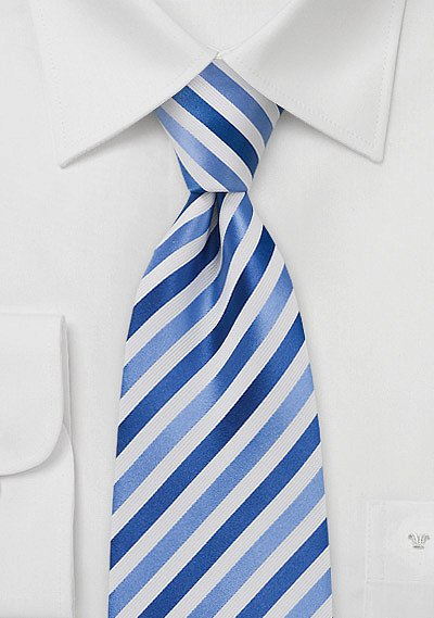 Trendy Mens Tie In Blue And White Bows N Ties Com