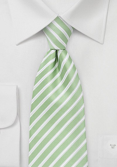 Mint Green And White Striped Tie Bows N Ties Com