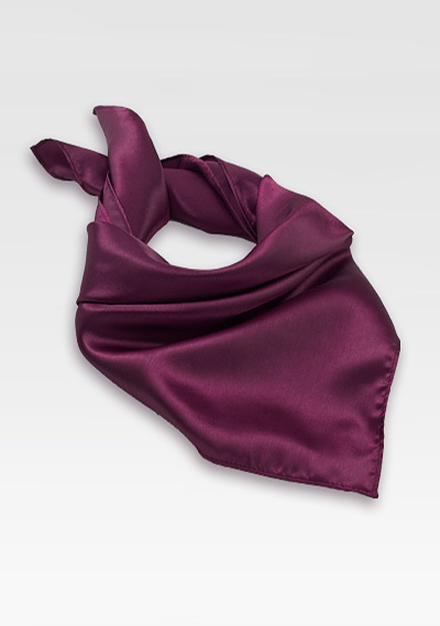 solid grape purple neck scarf bowsntiescom